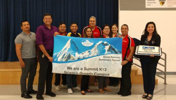Rodolfo Reyes recognized by Summit K12